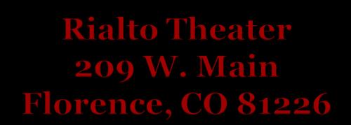 Rialto Theater 209 W Main St