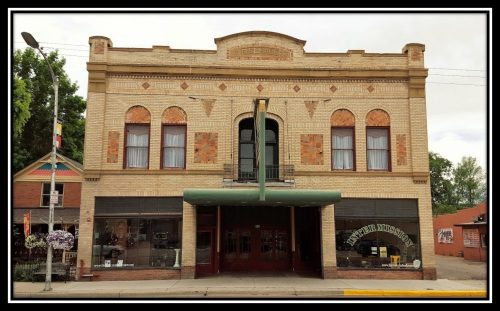 Rialto Theater with curtains