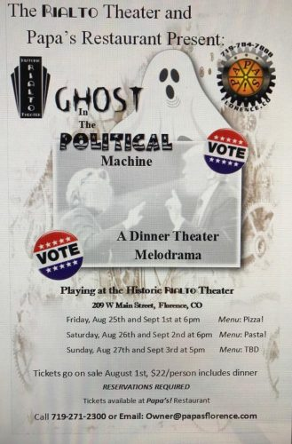 Ghost in the Political Machine Melodrama