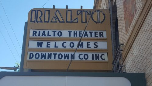 Rialto Theater welcomes Downtown Co Inc
