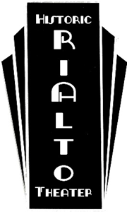 Rialto Theater Sign logo