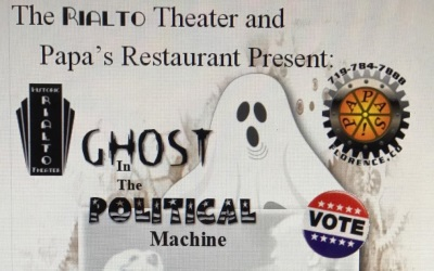 Ghost in the Political Machine Dinner Melodrama