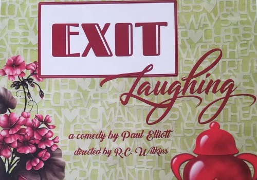 Exit Laughing Playbill