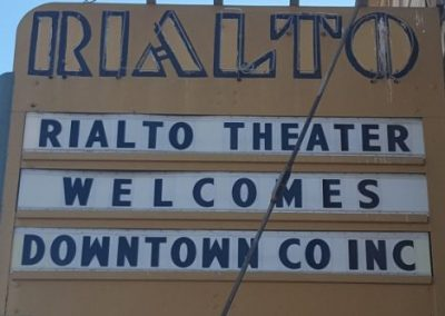 Marquee:Rialto Theater Welcomes Downtown CO Inc