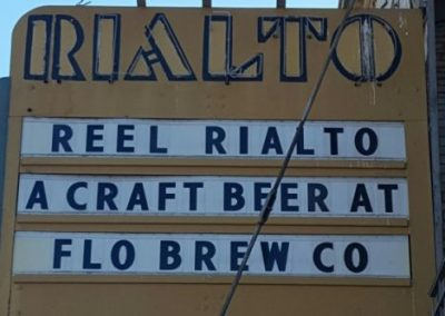 Marquee:Reel Rialto A Craft Beer At Flo Brew Co