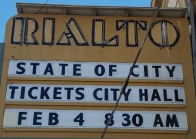 Marquee:State of City Tickets City Hall Feb 4