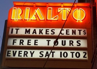 Marquee:It Makes Cents, Free Tours Every Sat 10 to 2