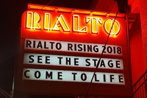 Historic Rialto Theater Rising in 2018