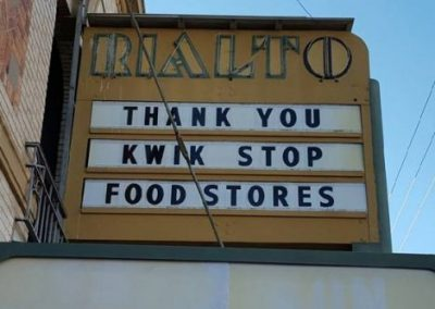 Marquee:Thank You Kwik Stop Food Stores