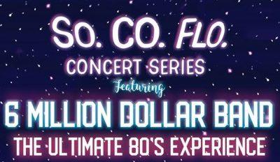 """6 Million Dollar Band"" in concert"