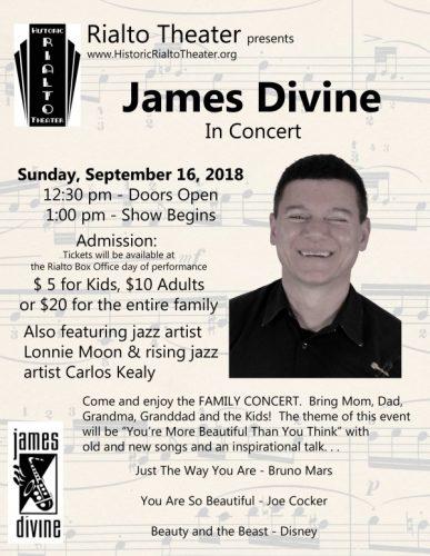 James Divine in Concert