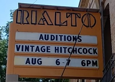 Marquee: Auditions Vintage Hitchcock Radio Show
