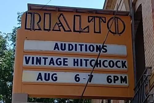"""Open Auditions for """"Vintage Hitchcock a live Radio Play"""""""