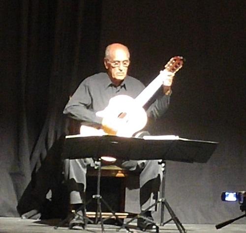 Jim Bosse in concert at the Rialto