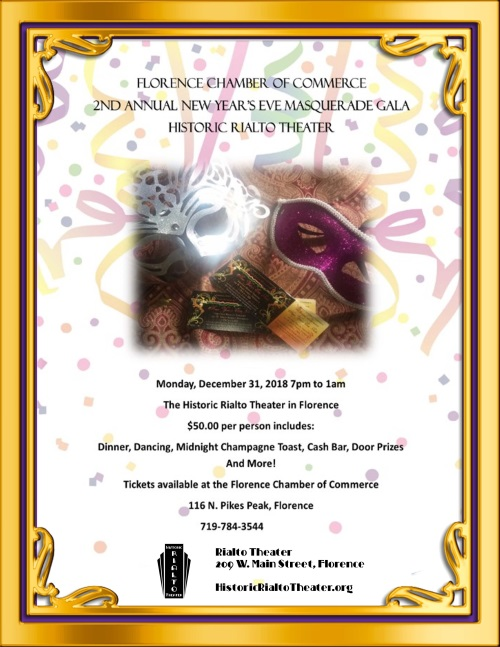 New Years Eve 2018 Gala at the Rialto