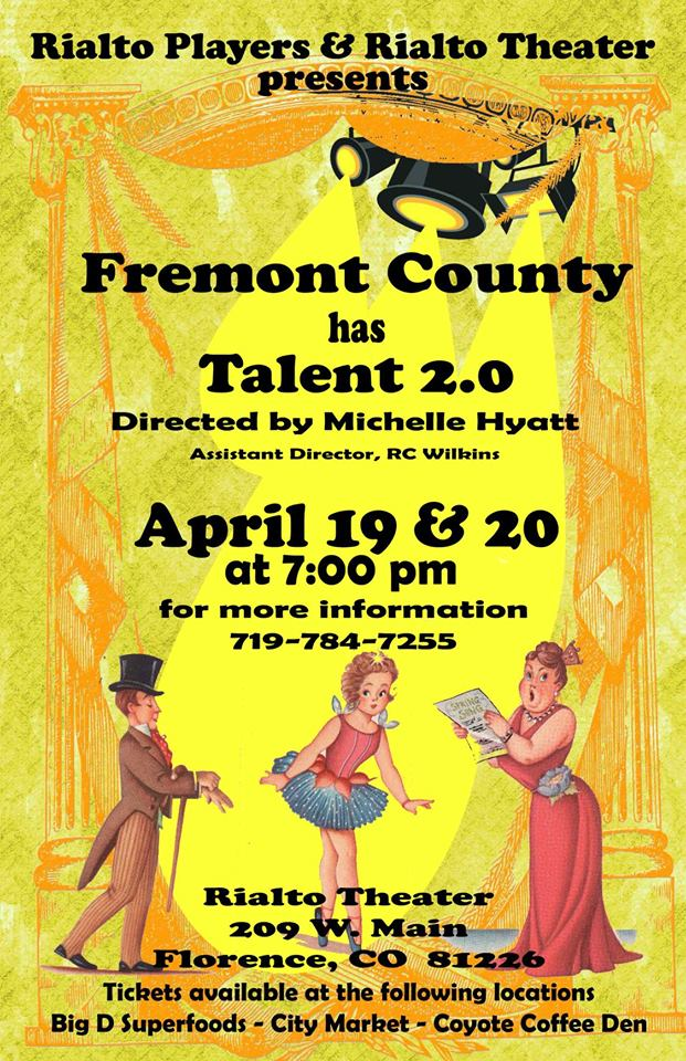 Fremont County Has Talent 2.0 Flyer