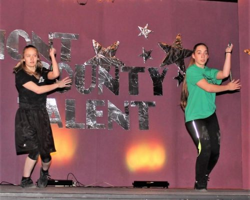 Annette Ezell and Emily Schmid Martial Arts
