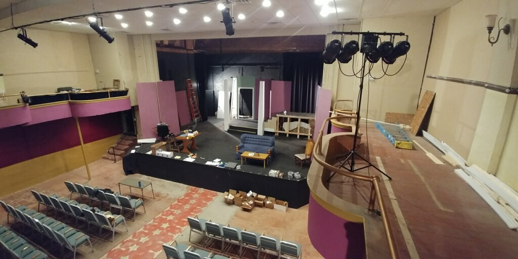 Deathtrap Set under construction