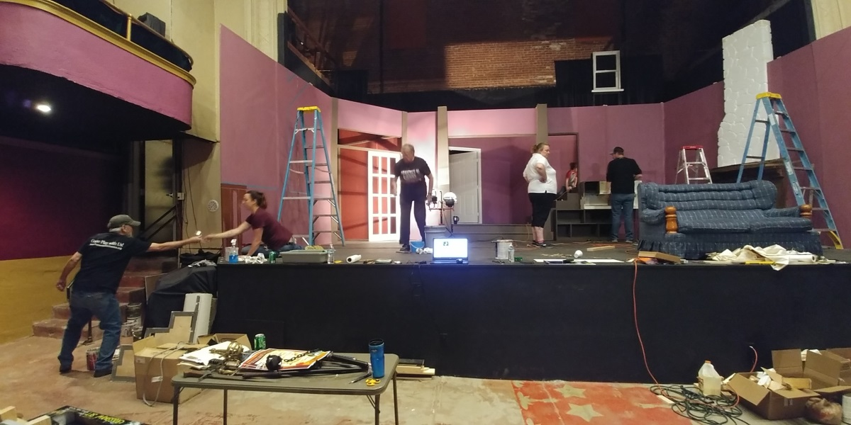 DeathTrap set construction