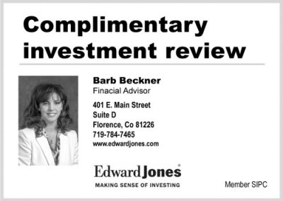 Barb Beckner, Financial Advisor with EdwardJones