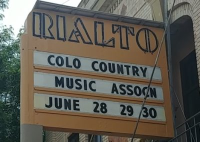 Marquee: Colorado Country Music Association June 28-30