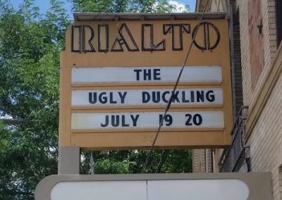 Marquee: Ugly Duckling July 19 20