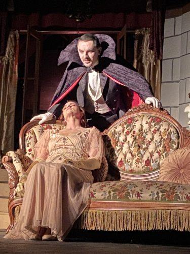Count Dracula and Mina Murray