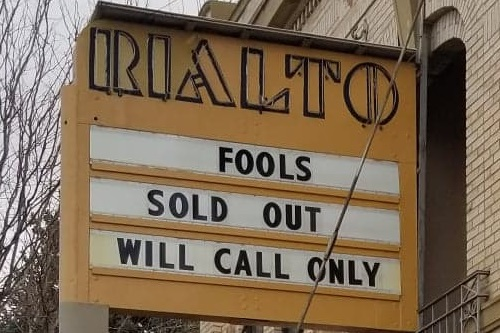 Marquee: Fools Sold Out