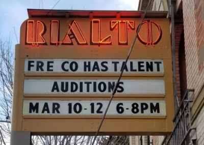 Marquee: Fremont County Has Talent Auditions Mar 10-12 6-8pm