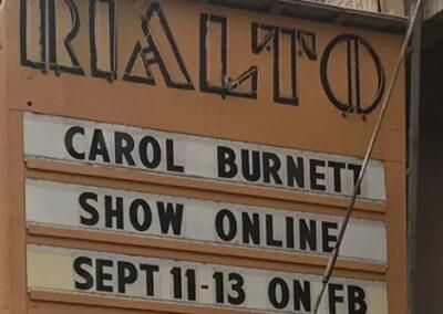 Marquee: Carol Burnett Show Online Sept 11-13