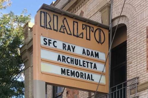 Marquee: SFC Ray Adam Archuletta Memorial