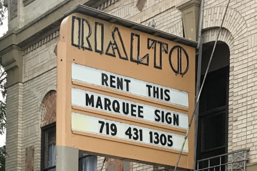 Marquee: Rent This Marquee Sign