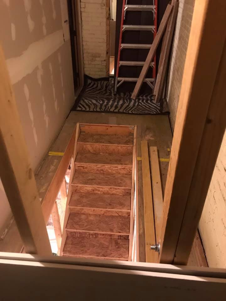 Stairs- work in progress