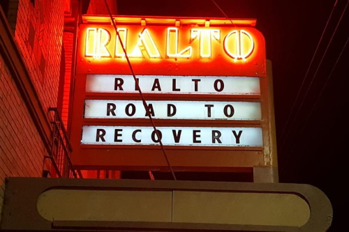 Marquee: Rialto Road To Recovery