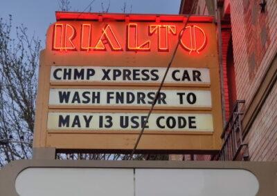 Marquee: Champ XPress Car Wash Fundraiser