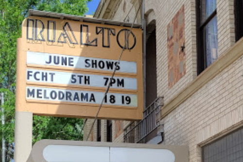 Marquee: June Shows FCHT 5th Melodrama 18th, 19th
