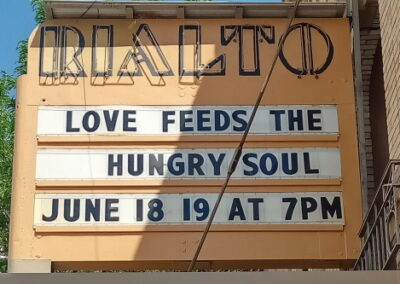 Marquee: Love Feeds The Hungry Soul June 18 19 at 7pm