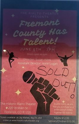 Fremont County Has Talent - Sold Out