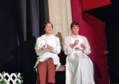 Mrs Gibbs and Mrs Webb