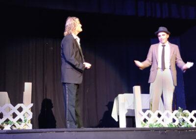 Stage Manager and Jeremy Shingleton as Mr Webb