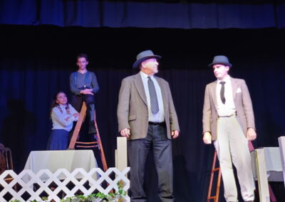 Paul Pedtke as Constable Warren and Mr Webb