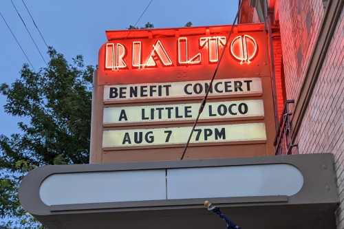 Marquee: Benefit Concert A Little Loco