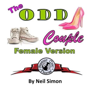 """""""The Odd Couple"""" by Neil Simon, performed by Fremont Civic Theater at the Rialto Theater in Florence"""
